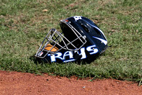 Tampa Rays Catcher's Mask